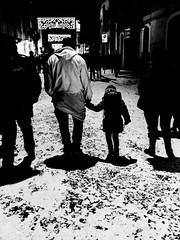 together (Gaetano Serio) Tags: street photography blackwhite strada streetphotography olympus nik fotografia zuiko bianconero 45mm catania omd lightroom santagata efex candelora olympusomdem5 sigma19mm