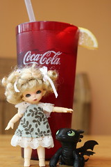 My Fave [Drink] (AluminumDryad) Tags: glass toy lunch lemon doll dragon drink straw bjd resin fairyland toothless sweettea ante balljointeddoll photochallenge adad tinybjd pukipuki favefood howtotrainyourdragon adolladay favedrink nightfury april2016