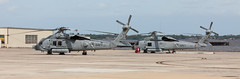 FlyGirlPainter_April2016_HSM-60-6792 (RobBixbyPhotography) Tags: aircraft aviation navy helicopter usaf flightline seahawk pavehawk nasjax hs11 hsm70 hsm60