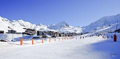Val Thorens ski resort (A. Wee) Tags: france alps skiresort valthorens  troisvalles  les3valles