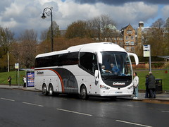 Coliseum, West End Irizar i6, MIB 652 (miledorcha) Tags: new travel holiday west bus coach tour glasgow sightseeing integral end coliseum southampton tours luxury touring coaches excursion psv pcv daf irizar i6 lucketts triaxle mib652