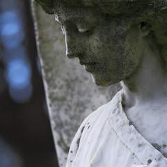 Angel (davewebster14) Tags: sculpture cemetery angel memorial wooler