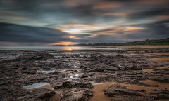 Sunrise at Red rocks (BlueberryAsh) Tags: ocean sea seascape beach water clouds sunrise sand rocks australia phillipisland ventor nikon24120 cloudsstormssunsetssunrises nikond750