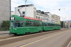 500 (KennyKanal) Tags: tram basel ag grn schindler waggon bvb pratteln basler cornichon verkehrsbetriebe schienenfahrzeug drmmli ysebhnli