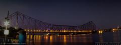 Howrah Bridge (Rabindra Setu) - 1 (Syed Mojaddedul Islam (Sagor)) Tags: life street city india canon eos diary islam dhaka syed kolkata bangladesh sagor 60d mojaddedul smisagor