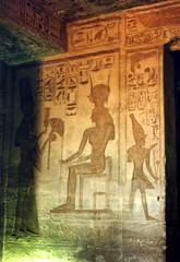 1992 - Upper Egypt - Abu Simbel Temples (bellrockman2011) Tags: temple egypt nile temples pyramids aswan abusimbel hathor antiquities pharaohs lakenasser ramessesii