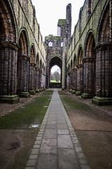 Kirkstall Abbey #2 (Andrea_Lazzarato) Tags: old church abbey decay leeds medieval kirkstall rudere abazia