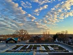 Sunset at Tufts University ((Jessica)) Tags: sunset sky boston clouds massachusetts somerville tufts medford pw tuftsuniversity tischlibraryroof