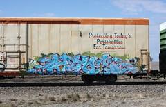Stoe (quiet-silence) Tags: railroad art train graffiti railcar graff freight reefer cdc stoer fr8 cryx cryo stoe cryotrans cryx5101