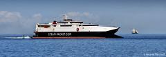 Boats in the Bay (manxmaid2000) Tags: blue sea ferry coast boat ship harbour transport coastal sail passenger fleet isleofman manx iom steampacket