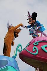 Hippity-Hoppity Springtime (sidonald) Tags: tokyo disney mickey parade mickeymouse pluto tokyodisneyland tdl パレード tdr tokyodisneyresort ディズニーランド ミッキー プルート ヒピホピ ディズニー・イースター hippityhoppityspringtime disneyseaster2016