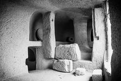 (Laszlo Horvath 1M+ views tx :)) Tags: bw monochrome nikon hungary cave rhyolite tuff cavedwellings noszvaj nikond7100 sigma1835mmf18art