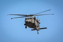 Bird of a different kind! (malc1702) Tags: closeup inflight random aircraft aviation bluesky helicopter militaryaircraft freezemotion nikond7100 tamron150600