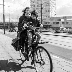 Amsterdam, Verbindingsdam (Bart van Dijk (...)) Tags: city boy urban bw monochrome amsterdam bicycle lady cyclists blackwhite kid cyclist child zwartwit kinderen citylife streetphotography kind bicycles squareformat dailylife dame vrouw fietsen stad fiets vrouwen zw fietser stadsarchief monochroom peopleinthecity straatfotografie peopleinthestreets dagelijksleven mensenopstraat stadsleven peopleinamsterdam stadsarchiefamsterdam mensenindestad vierkantformaat 11format bartvandijk breeblebox menseninamsterdam cityarchivesamsterdam straatnamenenstadsplekken