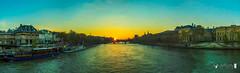 Pano - Sun goes down on Pont des Arts (joly_jeff) Tags: food paris seine photography timelapse louvre doubleexposure eiffel dslr tripleexposure focusstack 24105mm jewells canon5dmarkiii jewellerypics wwwjeffjolycom jeffjoly equipeinteractivecom