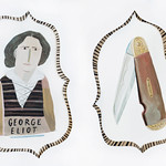 "George Eliot Duo<a href=""http://farm2.static.flickr.com/1444/26563247155_6a4dd90d70_o.jpg"" title=""High res"">∝</a>"