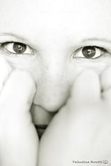 Self Portrait (valentinamoretti83) Tags: bw me occhi sguardo lookatme autoritratto fotografia gaze luce