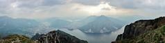 """""""Quel ramo del lago di Como"""" (fata_ci) Tags: panorama lombardia laghi escursioni piandeiresinelli"""