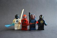 Patriotism (th_squirrel) Tags: lego ninja scifi minifig minifigs minifigure minifigures