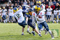 "GFL2 Hildesheim Invaders vs. Assindia Cardinals (Testspiel) 24.04.2015 059.jpg • <a style=""font-size:0.8em;"" href=""http://www.flickr.com/photos/64442770@N03/26608784321/"" target=""_blank"">View on Flickr</a>"