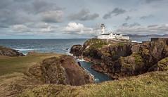 Fanad Lighthouse (Jenny dot com) Tags: ireland sea sky lighthouse landscape rocks donegal headland fanad ourdoor