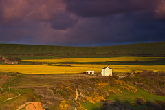 Fields of yellow. (paul downing) Tags: sunset clouds nikon 12 filters hitech northyorkshire oilseedrape huntcliffe gnd saltburnbythesea pd1001 pauldowning d7200 pauldowningphotography