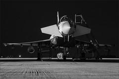 Eurofighter Typhoon (Ian Garfield - thanks for over 1 Million views!!!!) Tags: night speed canon dark ian photography long exposure shoot shadows force outdoor aircraft military air royal nightshoot eurofighter shutter vehicle tornado garfield bf typhoon raf coningsby zj807 rafroyal 5d3