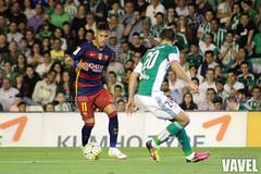 Betis - Barcelona 085 (VAVEL Espaa (www.vavel.com)) Tags: fotos bara rbb fcb betis 2016 fotogaleria vavel futbolclubbarcelona neymar primeradivision realbetisbalompie ligabbva betisvavel barcelonavavel fotosvavel juanignaciolechuga