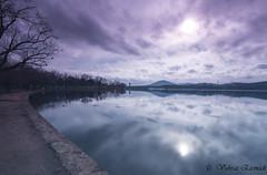 Purple Sky (vahraz) Tags: longexposure travel sky lake clouds skyscape landscape ngc canberra suset austarlia ndfilters canon6d