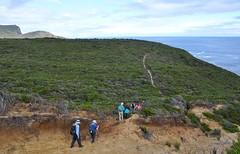 hiking the edge of the world (davidparratt) Tags: hiking tasmania tasmansea tasmanpeninsula maignonbay