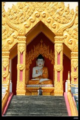 DP1U7128 (c0466art) Tags: trip travel blue light sky cloud tower water beautiful festival canon temple golden scenery bright buddha chinese spill 2016 1dx c0466art