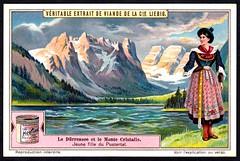 Liebig Tradecard S1143 - Durrensee Lake (cigcardpix) Tags: vintage advertising ephemera liebig tradecards