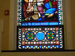 St. John's Tiffany Window (en tee gee) Tags: ny church longisland coldspringharbor