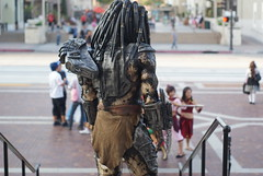 Predator cosplay (hmmmjenia) Tags: look closeup back cosplay predator meaning backgroud