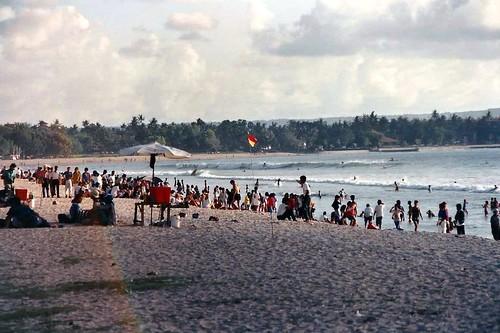 Bali Kuta Beach scene