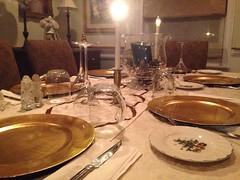 Random Photos! - Dinner's Light! (Polterguy30) Tags: christmas light dinner random diningroom dinnertable