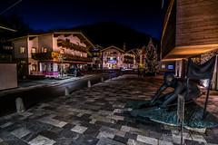 Flachau-Dorfstrae (Nico_Roos) Tags: salzburg photoshop oostenrijk nikon nightshot sigma bluehour 1020mm flachau at dorfstrase d5300
