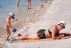 Croatia. Maxim in Mlini. 2011 (vs1k. 1 000 000 visits, Thanks so much !) Tags: family sea mediterranean croatia maxim adriatic dalmatia lidiya mlini