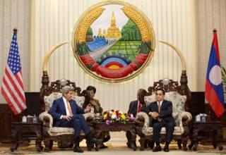 美国务卿克里亚洲行聚焦南海与朝鲜核问题