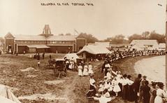 Columbia Co Fair Race Track Audience