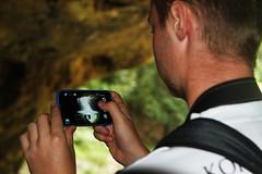 taking pictures (Robbie Guarino) Tags: phone springbrooknationalpark