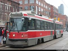Toronto Transit Commission #4244 (vb5215's Transportation Gallery) Tags: toronto ttc rail transit 1989 commission l3 utdc cancar alrv