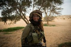 Caracal Company Training (Israel Defense Forces) Tags: training coed idf caracal battalion idfsoldiers southernisrael femalesoldiers idftrainingdesert