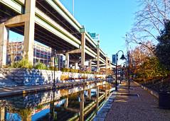 Canal Walk (r.w.dawson) Tags: park city urban virginia canal richmond trail walkway va shockoebottom canalwalk kanawahcanal