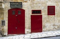 Ironmongery (albireo 2006) Tags: red shop store malta reddoor ironmongery valletta hccity ironmongerystore valletta2018 ironmongeryshop