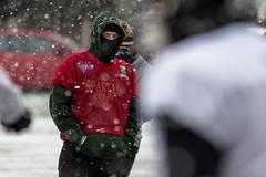 Halton Spartans (Tim Furfie) Tags: winter snow sport canon action americanfootball runcorn widnes halton canon7d haltonspartans