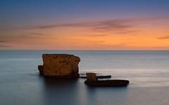 I due scogli (Marco Brunetti) Tags: seascape sunrise pentax syracuse sicily k30
