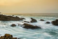 Waves & Rock (Jokoleo) Tags: sea motion beach rock indonesia movement wave karang taraje bayah sawarna banten