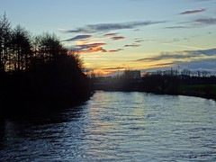 Sunset Over The Mighty River (Bricheno) Tags: bridge winter sunset river scotland riverclyde clyde glasgow escocia szkocja schottland rutherglen scozia cosse dalmarnock  esccia   bricheno scoia