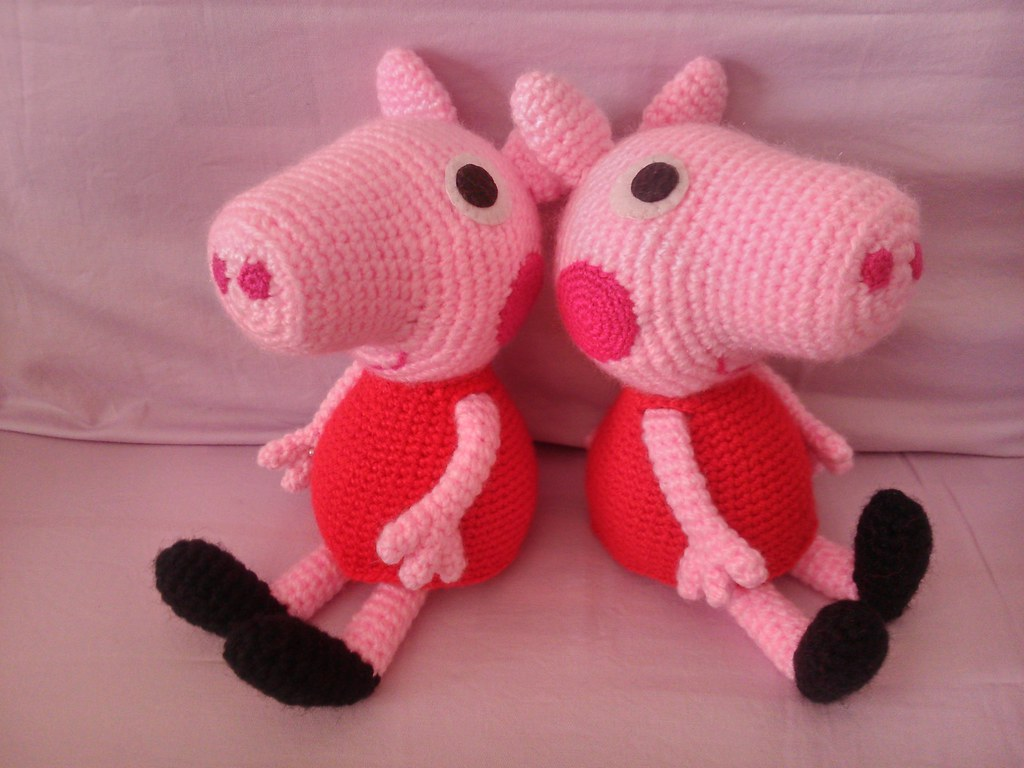 Amigurumi Pig Tail : The Worlds newest photos of crochet and pig - Flickr Hive ...